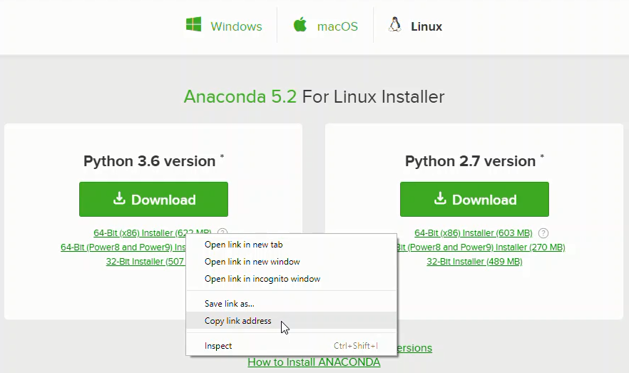 Installing Anaconda on Linux - Problem Solving with Python