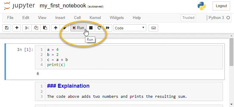 Jupyter Notebook Format Markdown